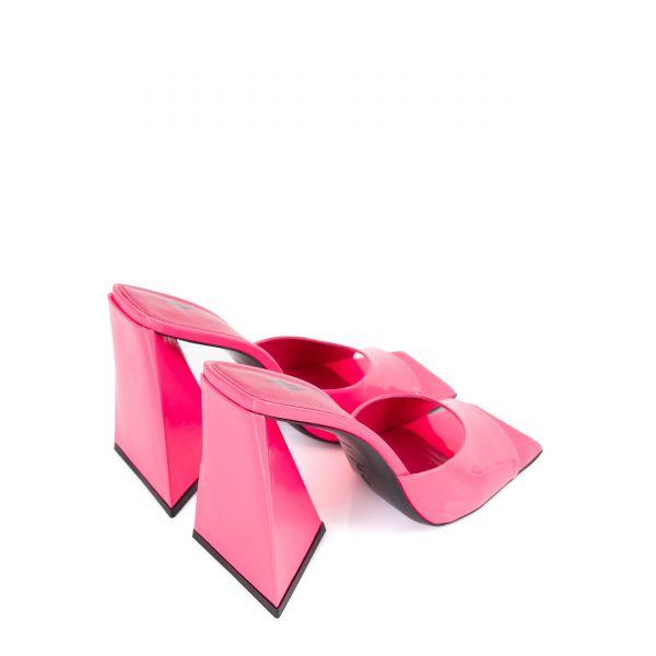 Сабо The Attico розовые