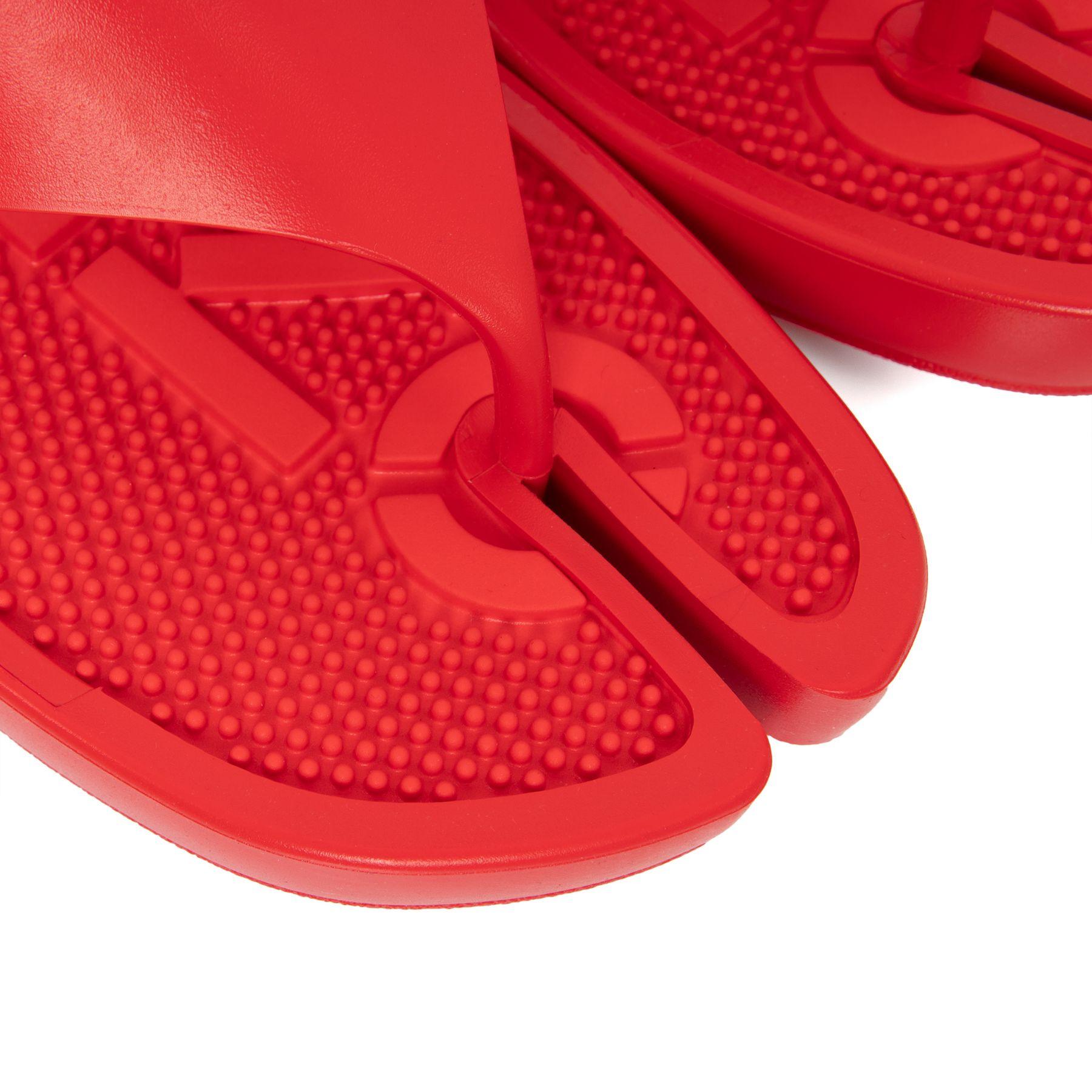 Шлепанцы Kenzo K-Beach красные