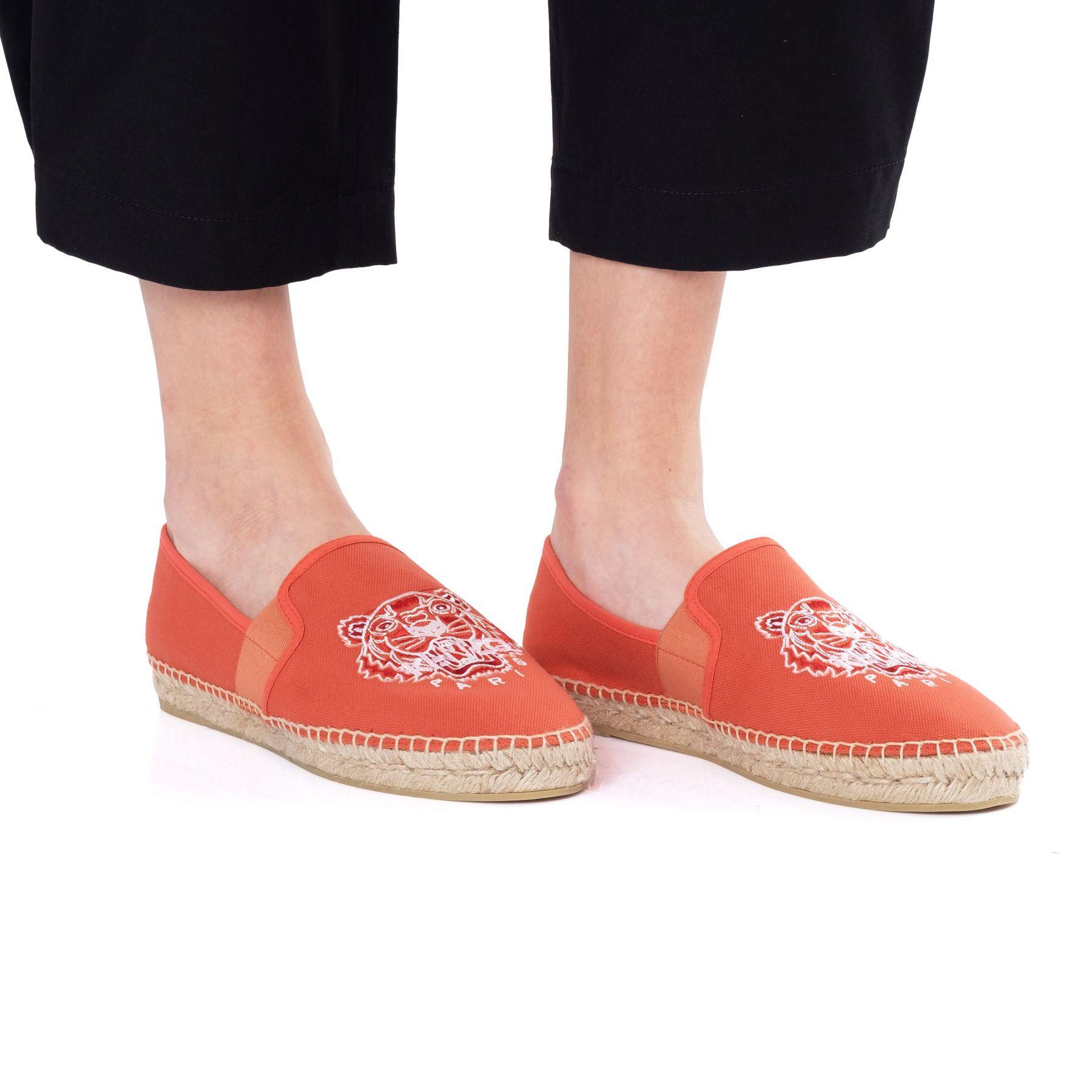 Эспадрилья Kenzo оранжевые