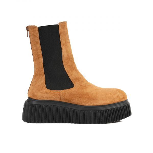 Ботинки флет AGL охра