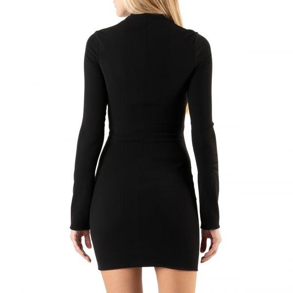 Платье Nanushka MARIA черное