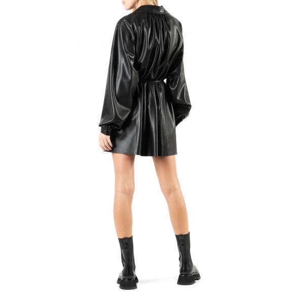 Платье Nanushka JOY черное