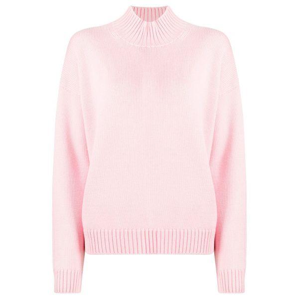 Свитер Ganni розовый