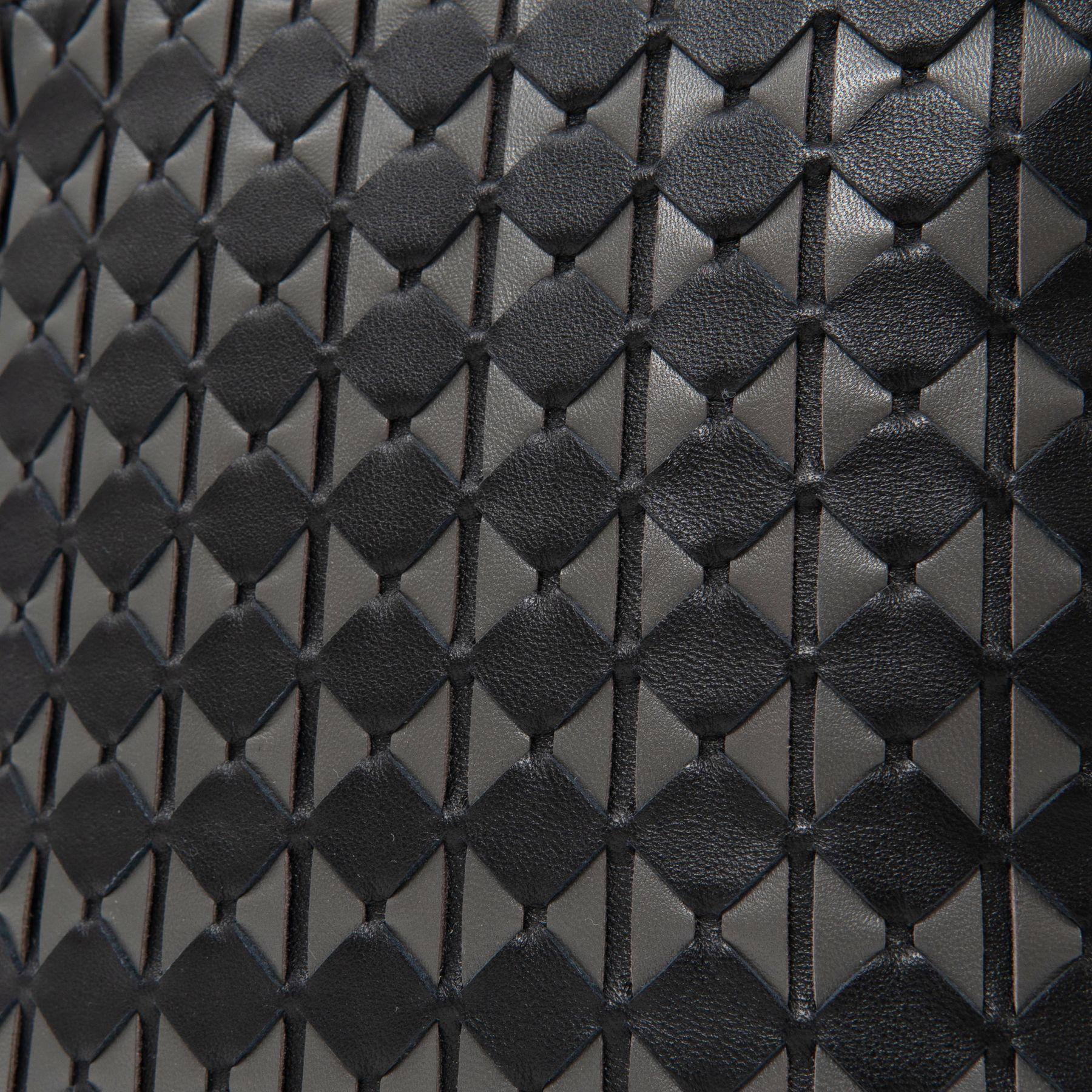 Сумка Serapian черно-серая