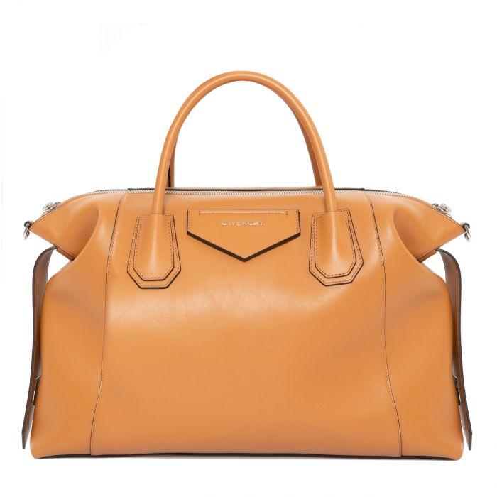 Сумка Givenchy Antigona Soft коричневая