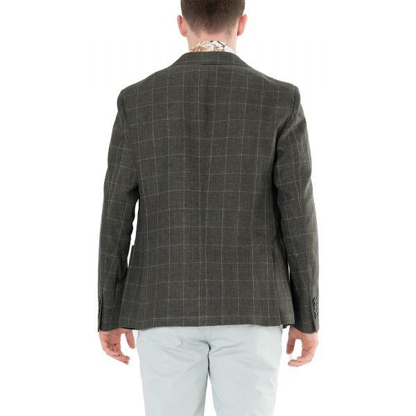 Пиджак Eleventy темно-коричневый