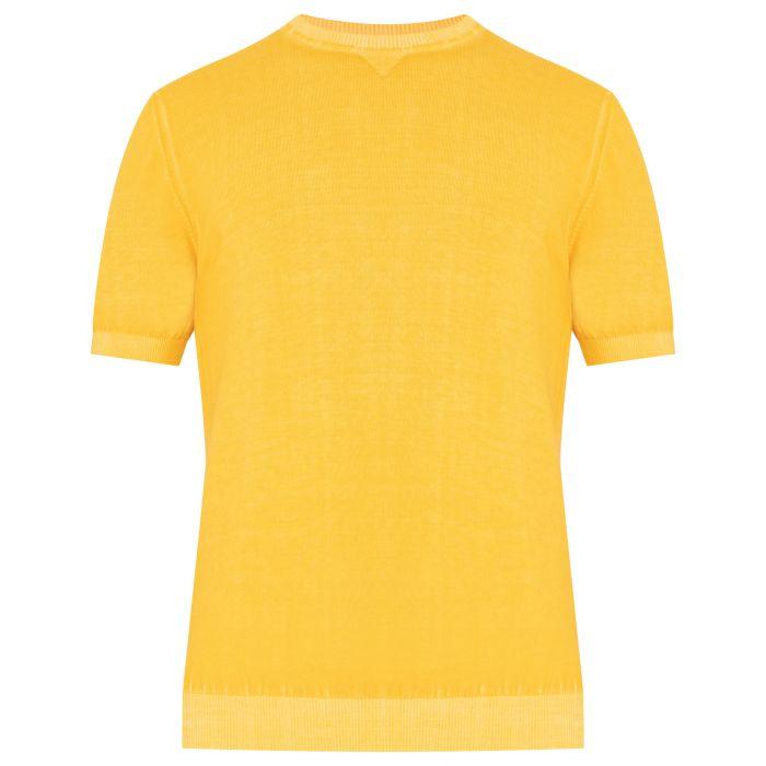 футболка Eleventy желтая