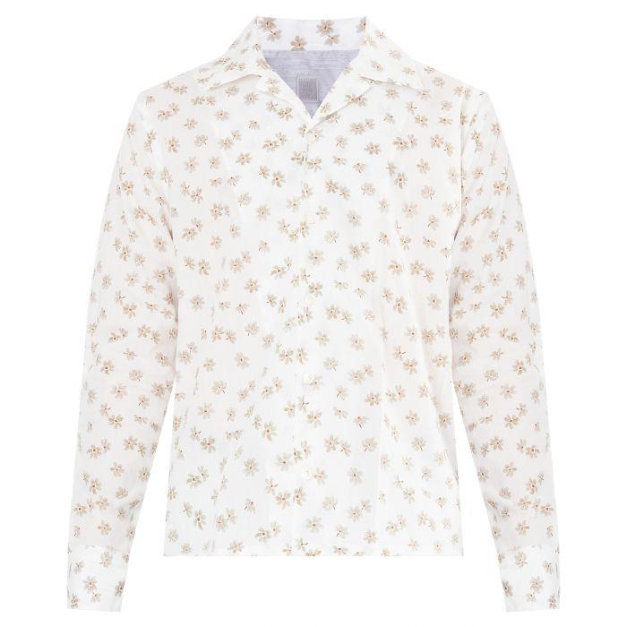 Рубашка с короткими рукавами Eleventy белая