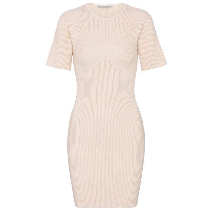 Платье Stella McCartney светло-бежевое