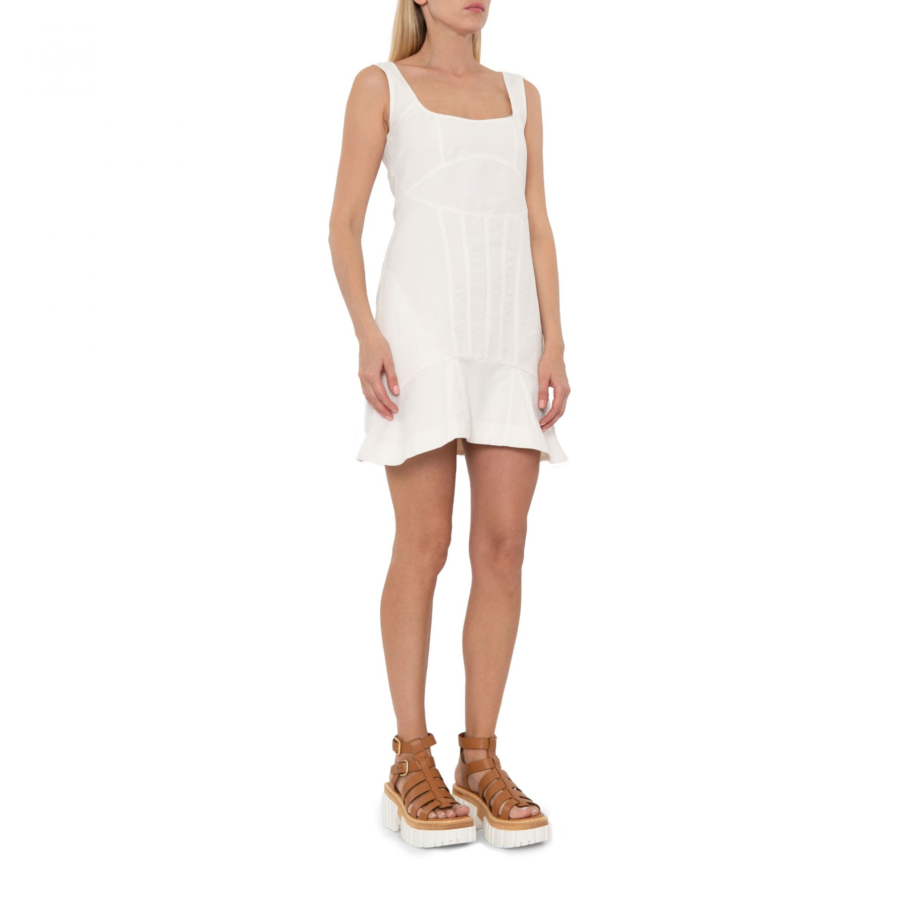 Платье Stella McCartney Avery белое