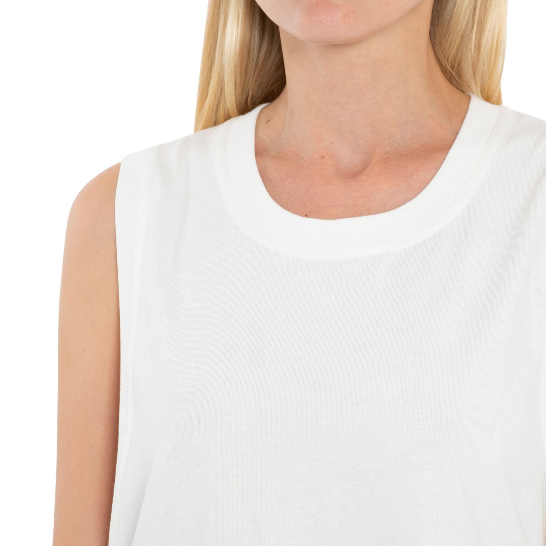 Платье Dries Van Noten белое