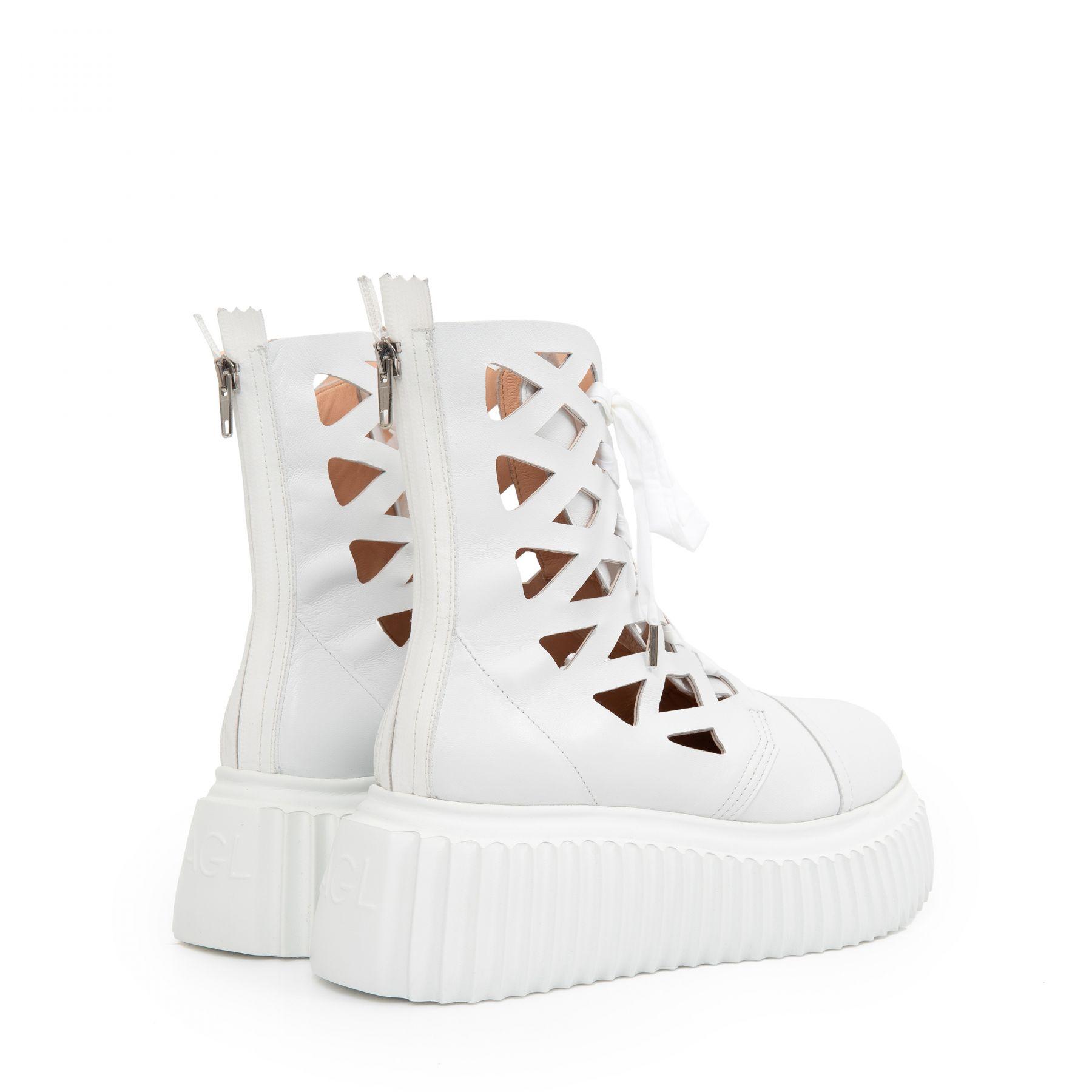 Ботинки AGL Viggy белые