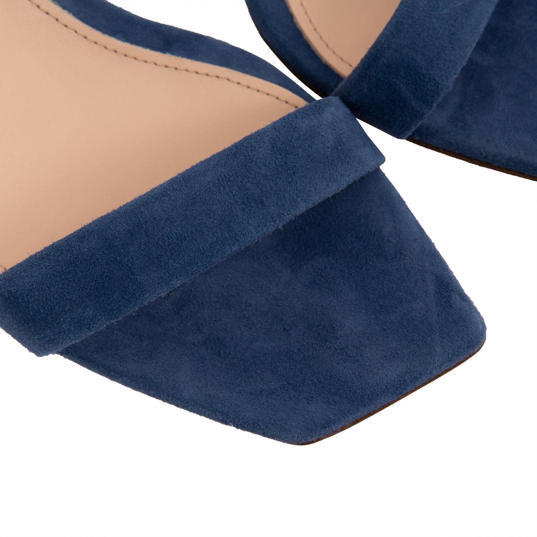Босоножки AGL Velda синие