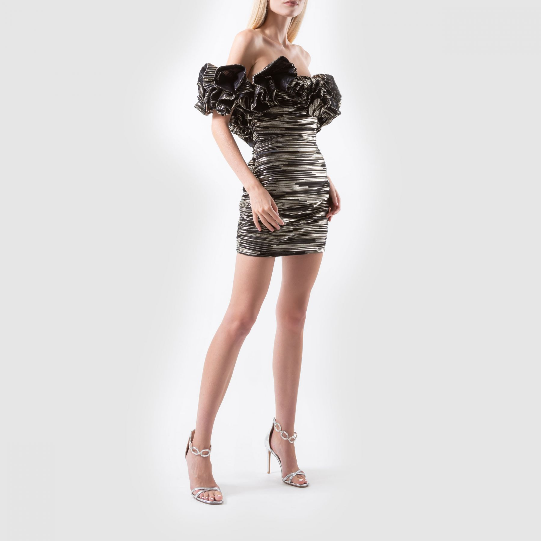 Платье Alexandre Vauthier золотое
