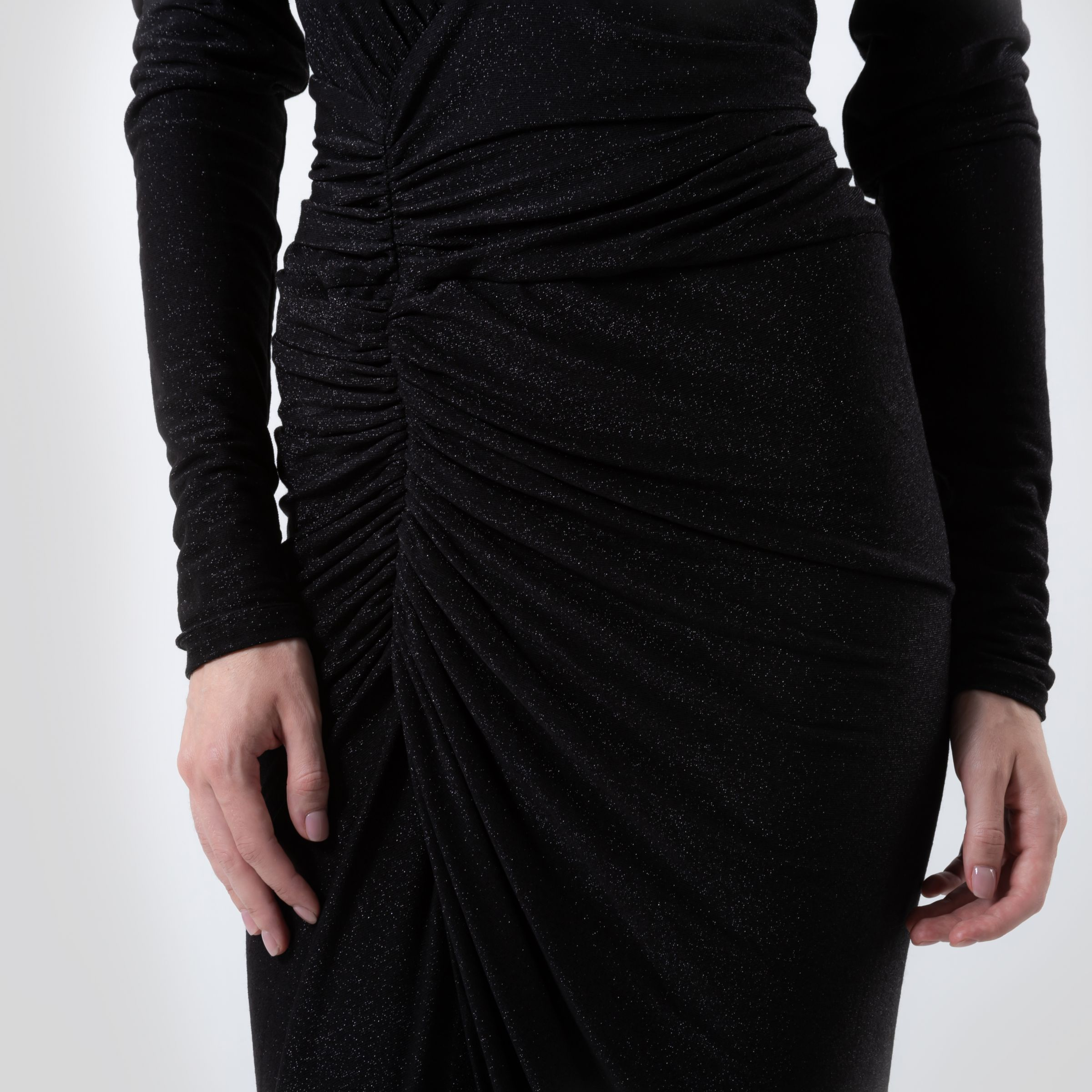 Платье Alexandre Vauthier черное