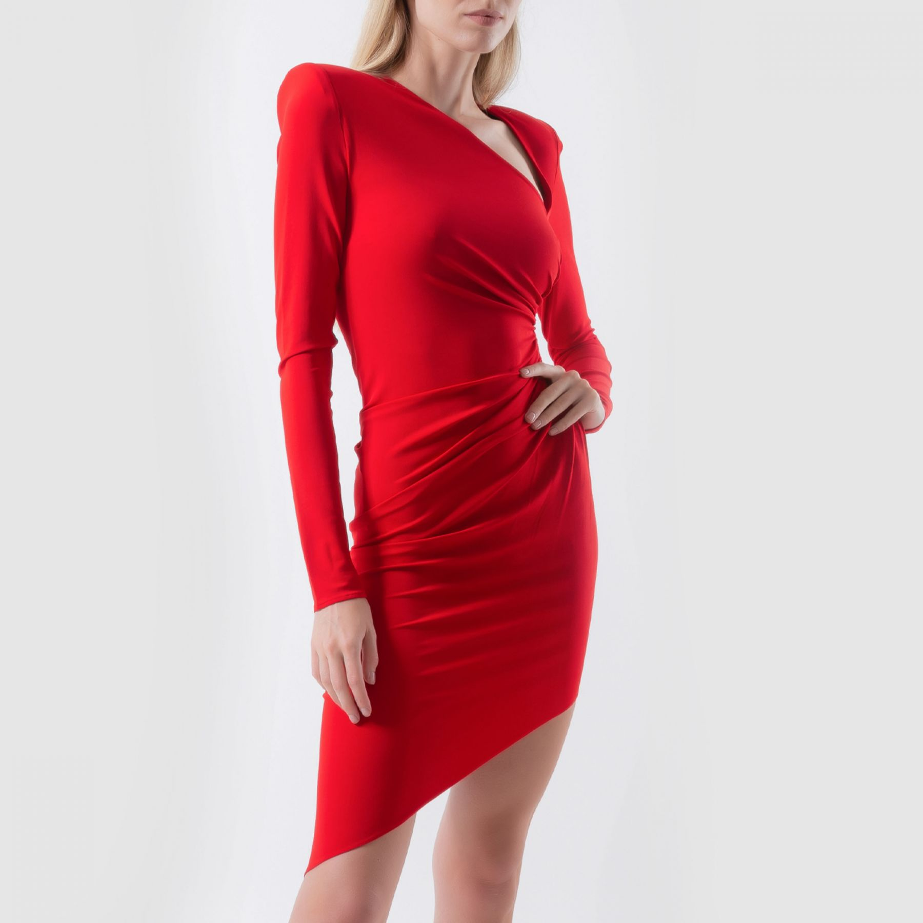 Платье Alexandre Vauthier красное