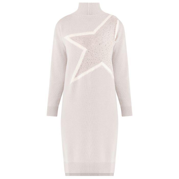 Платье Lorena Antoniazzi светло-бежевое