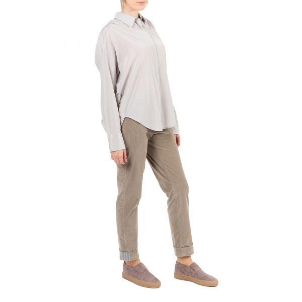Рубашка длин.рук. Lorena Antoniazzi светло-серая