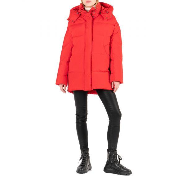Пуховик Woolrich Aurora красный