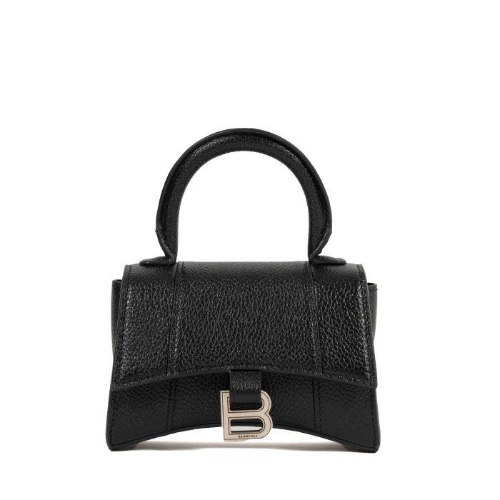 Сумка Balenciaga HOURGLASS Mini черная
