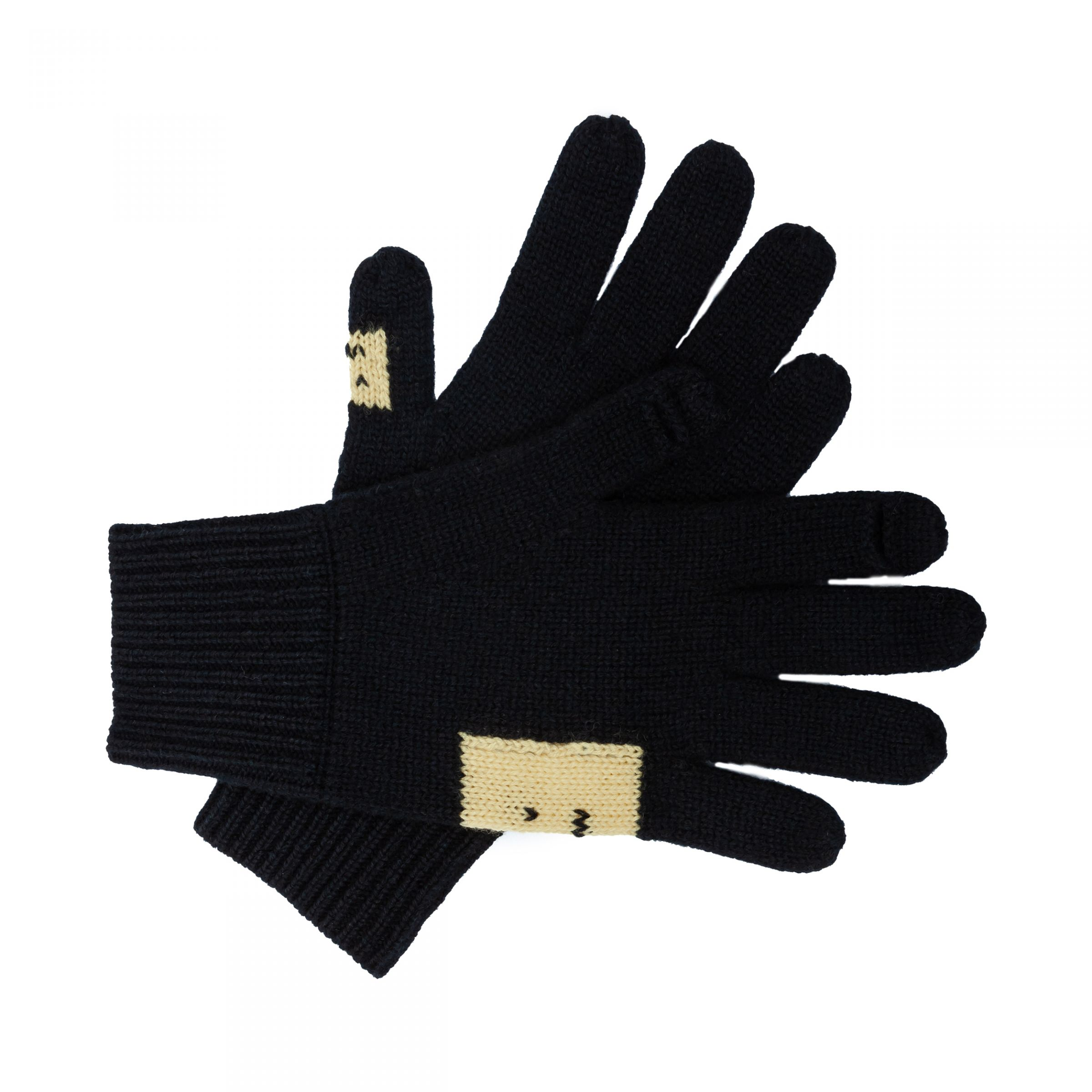 Перчатки Acne Studios черные