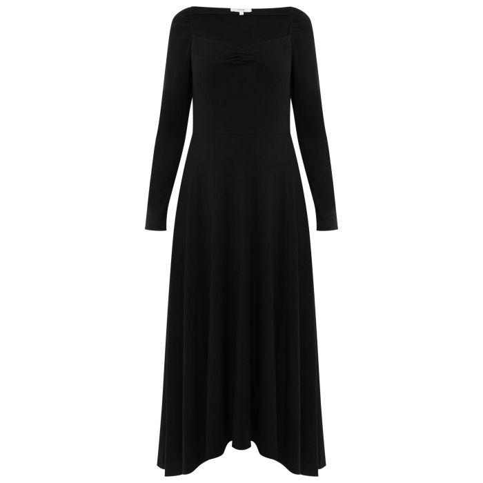 Платье длинное Vince черное