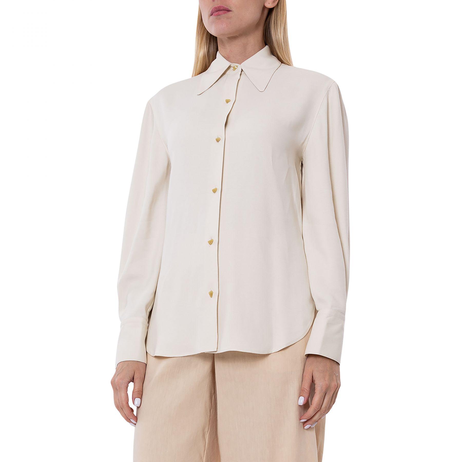 Блуза Vince молочная