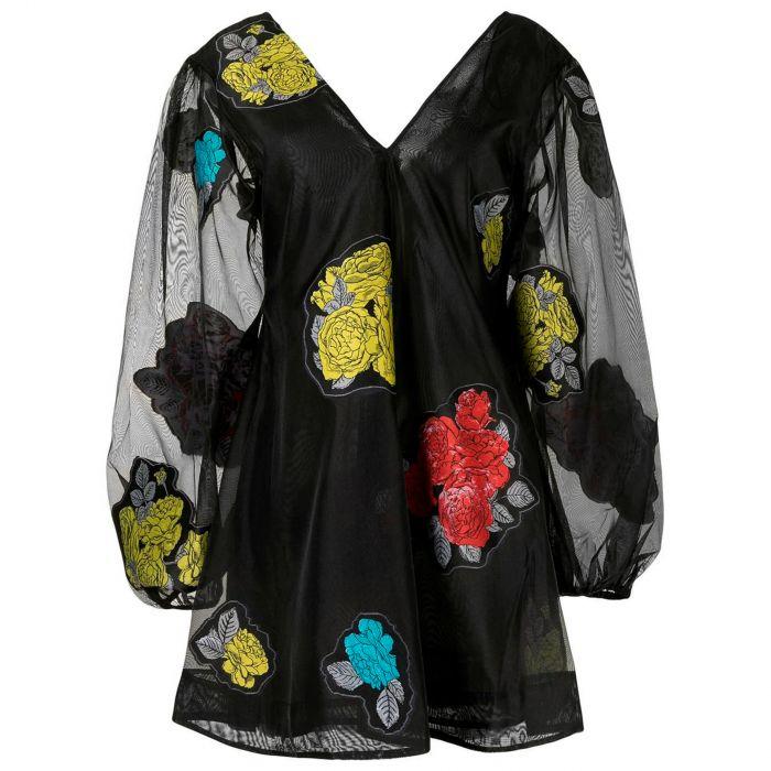 Платье Ganni черное