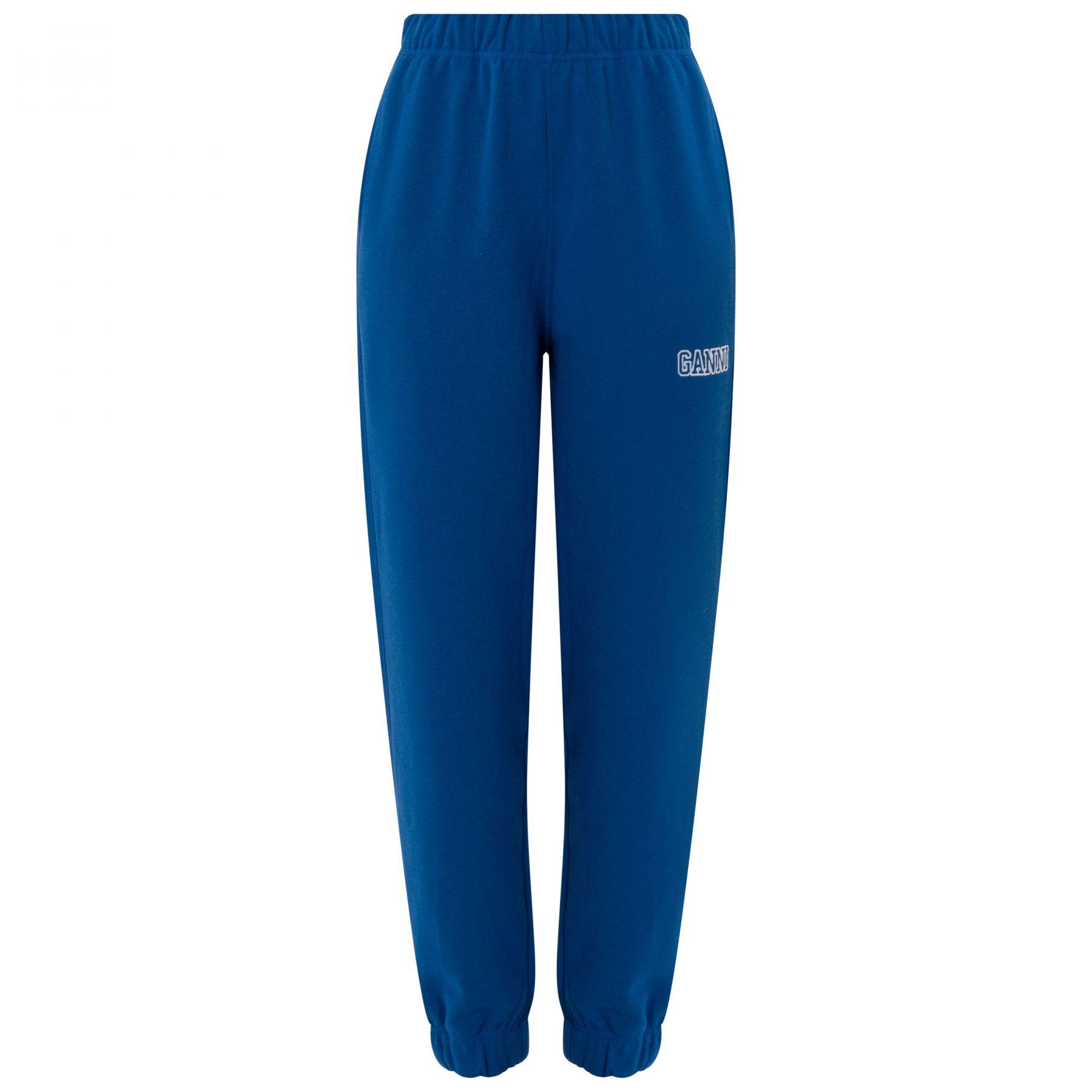 Спортивные брюки Ganni синие