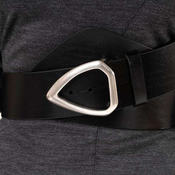 Ремень Isabel Marant LINKA черный