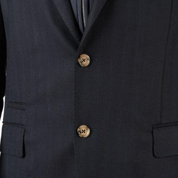 Пиджак Eleventy темно-синий