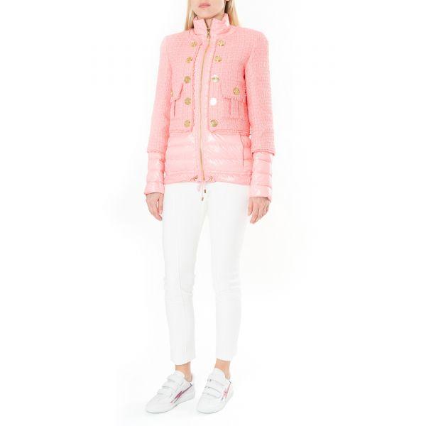 Куртка Balmain розовая