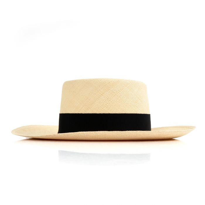 Шляпа Balmain бежевая