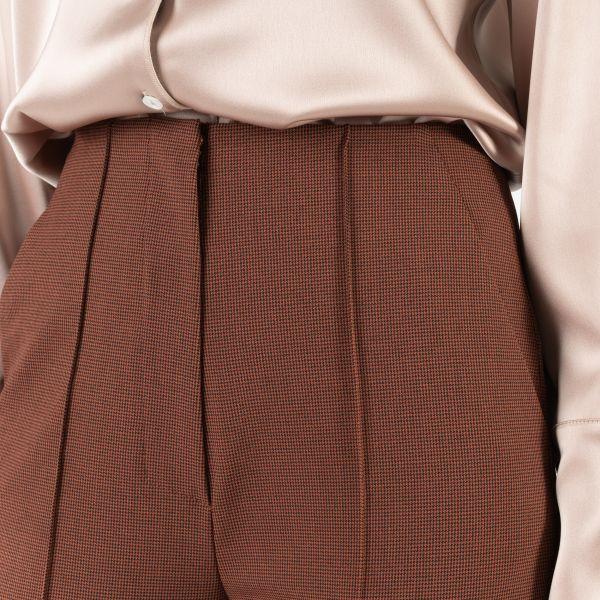 Брюки Nanushka VERA коричневые