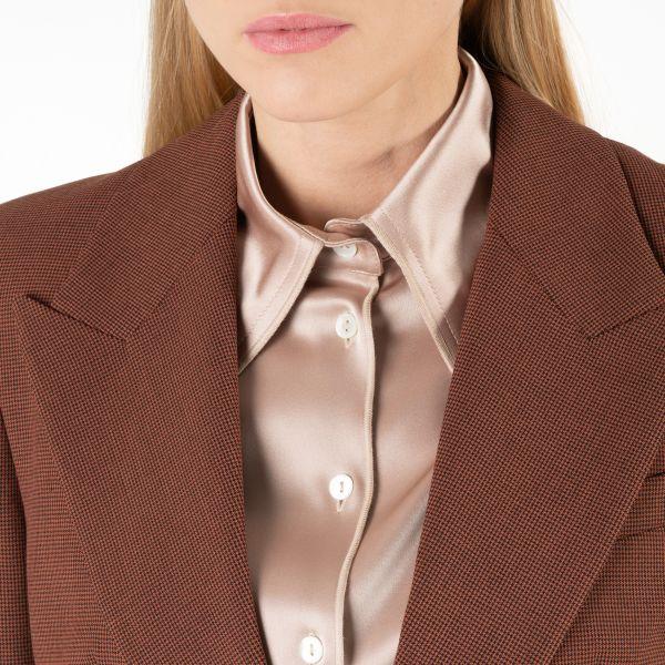 Костюм Nanushka HONOR коричневый
