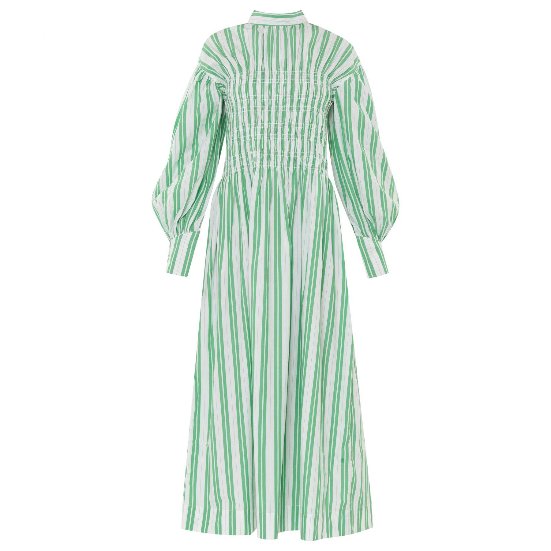 Платье Ganni зеленое