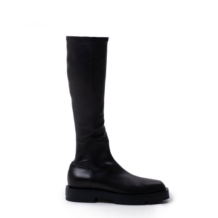 Сапоги флет Givenchy Squared  черные