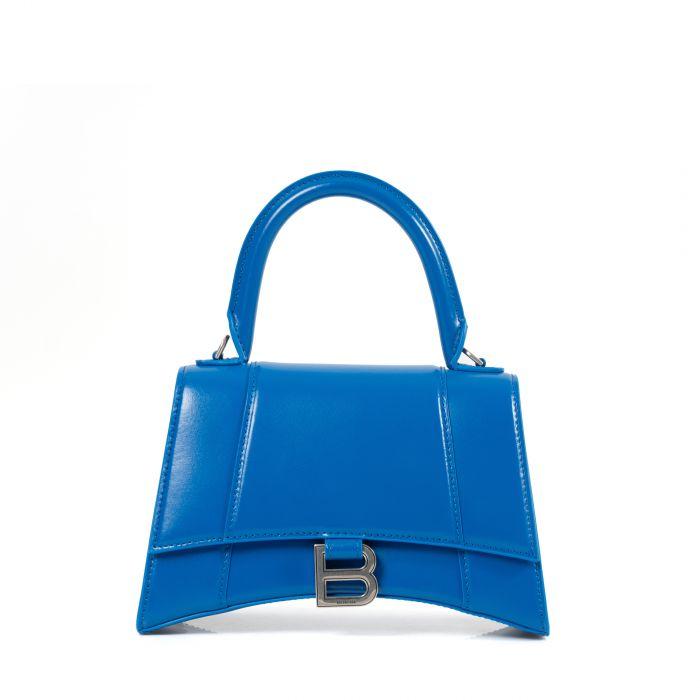 Сумка Balenciaga HOURGLASS синяя