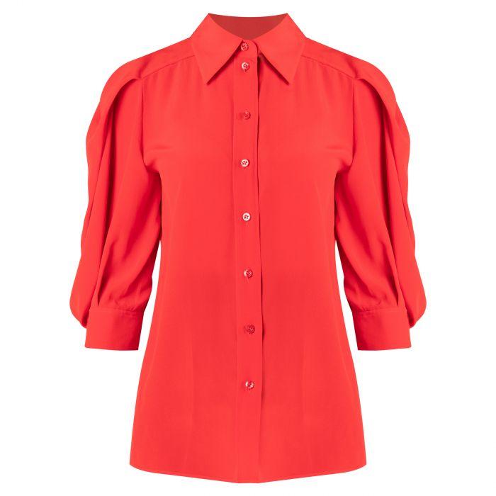 Блуза Givenchy красная