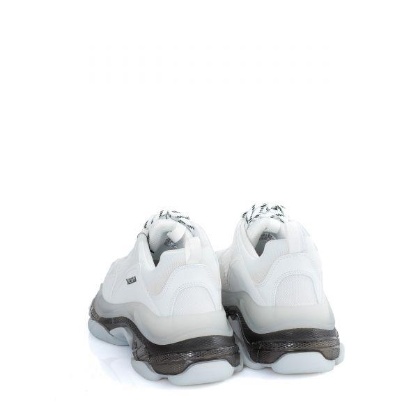 Кроссовки Balenciaga Clear Sole бело-черные