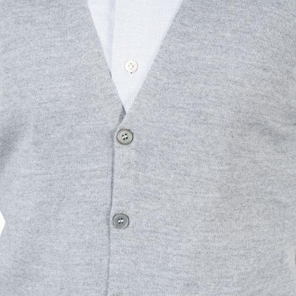Кардиган Barba Napoli серый