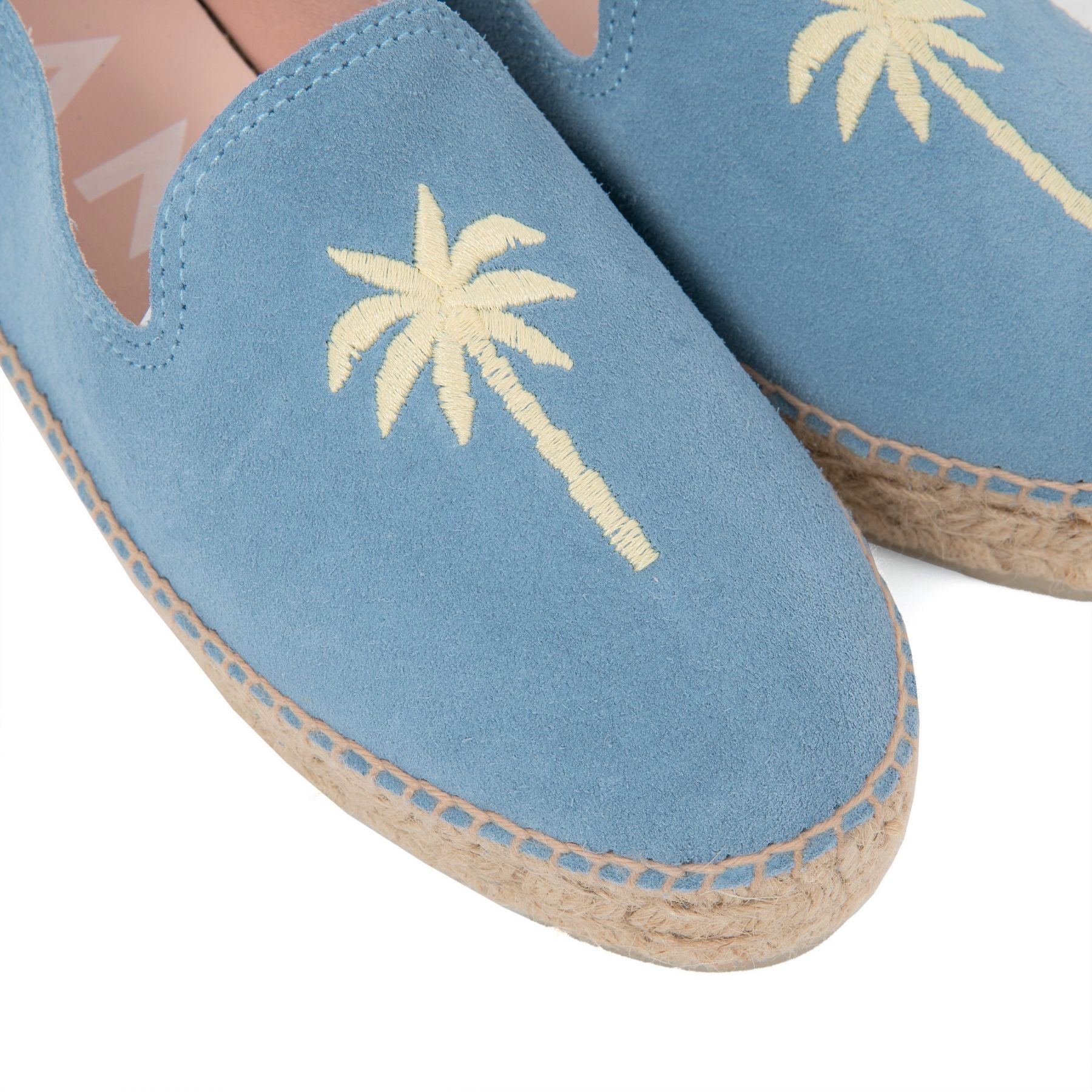 Эспадрильи Manebi Palm Springs голубые