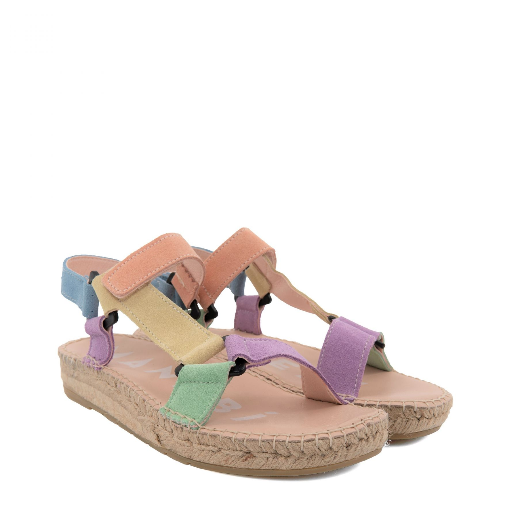 Сандалии Manebi Hamptons разноцветные