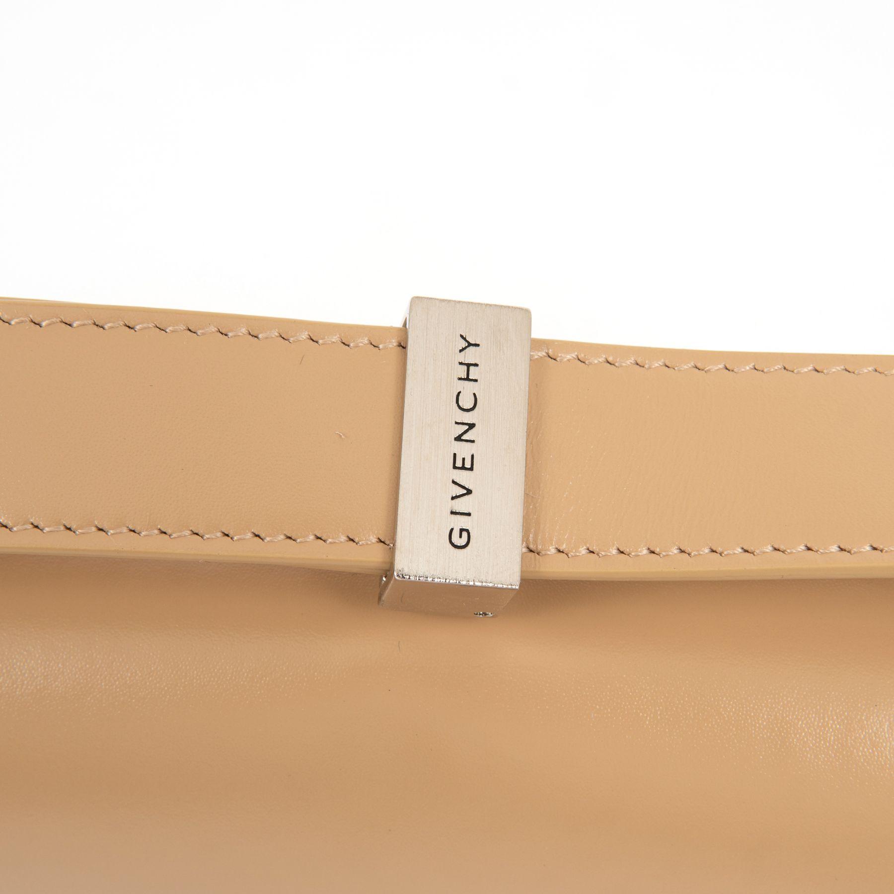 Сумка Givenchy 4G бежевая