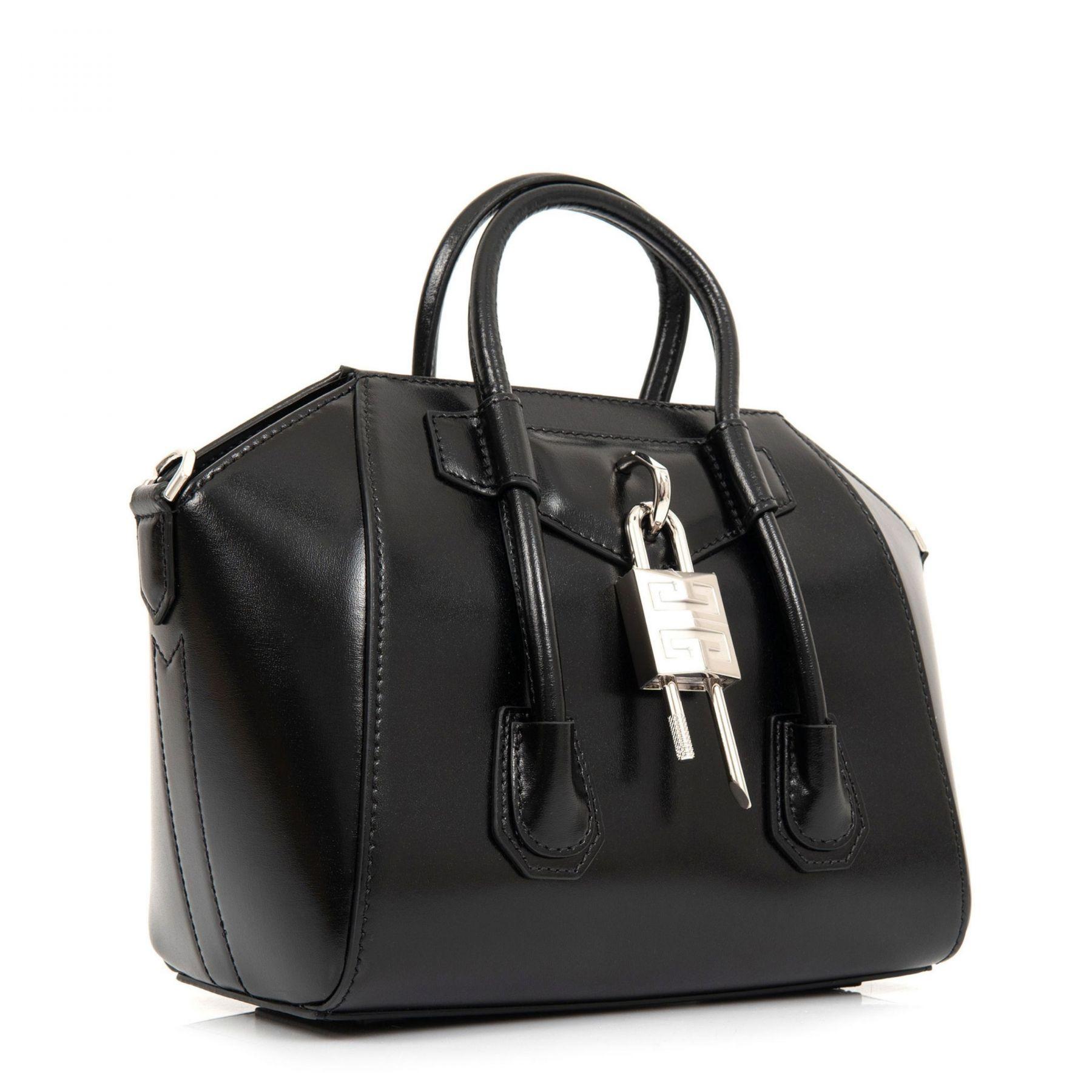 Сумка Givenchy Antigona Lock черная