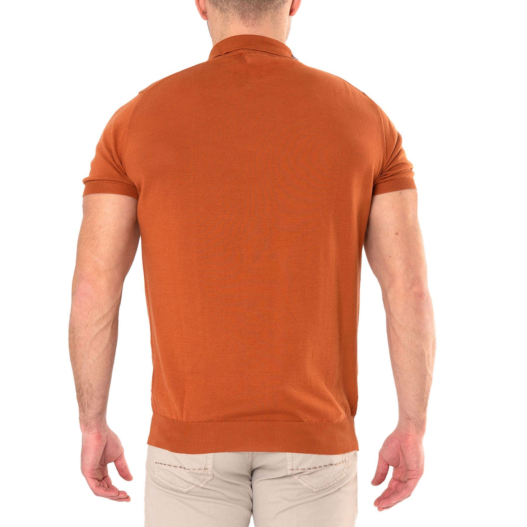Поло Il Borgo Cashmere оранжевое