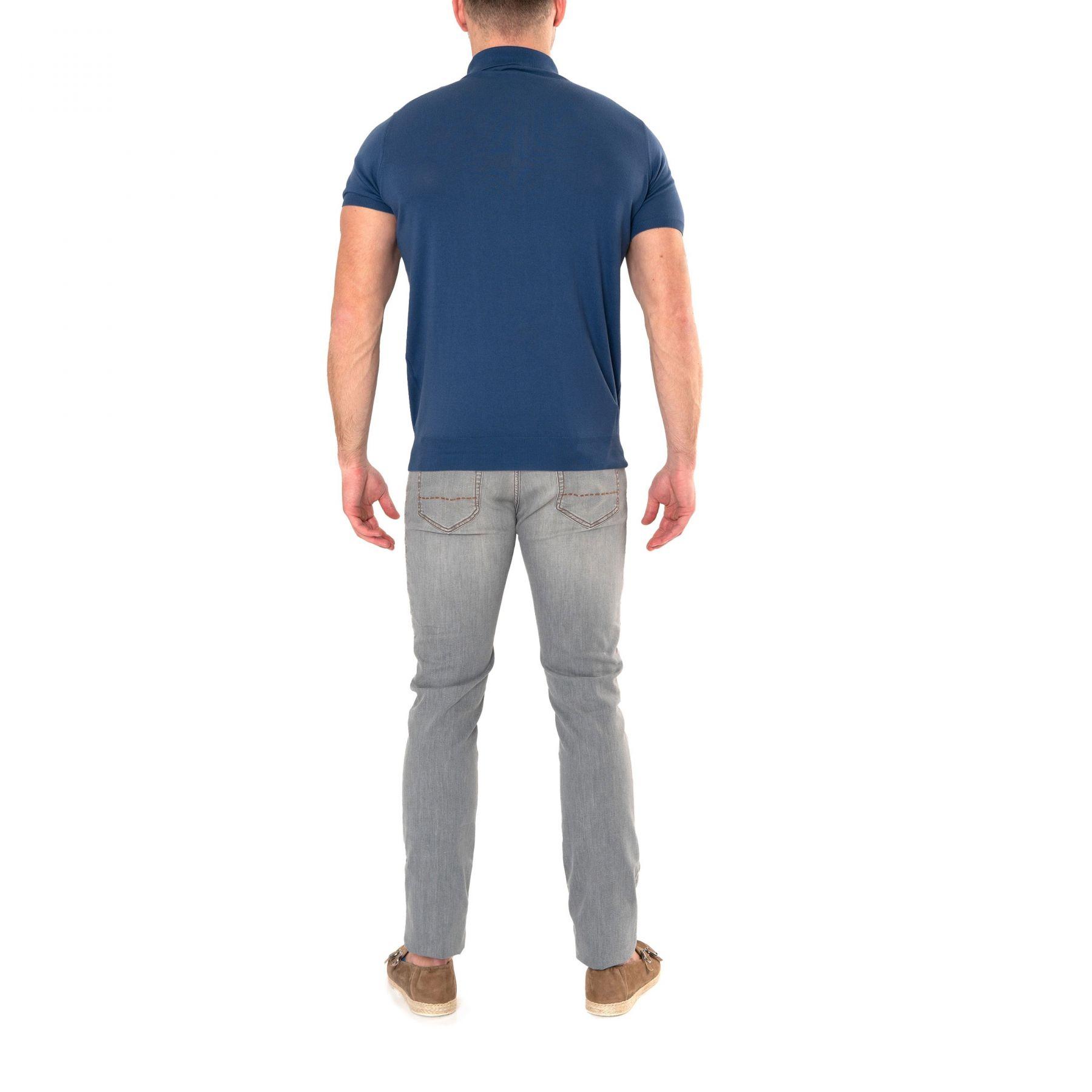 Поло Panicale синее