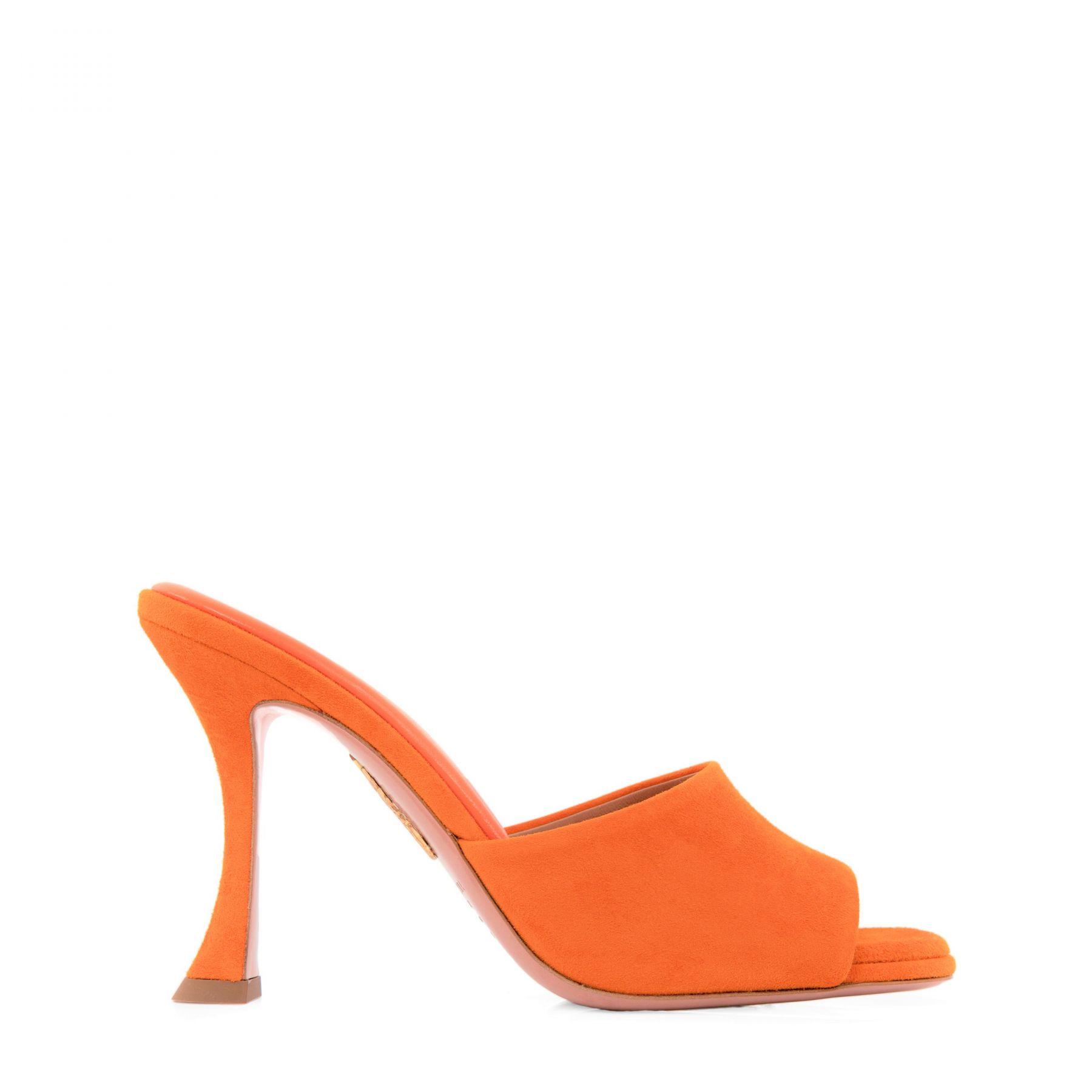 Мюли AQUAZZURA Violette оранжевые