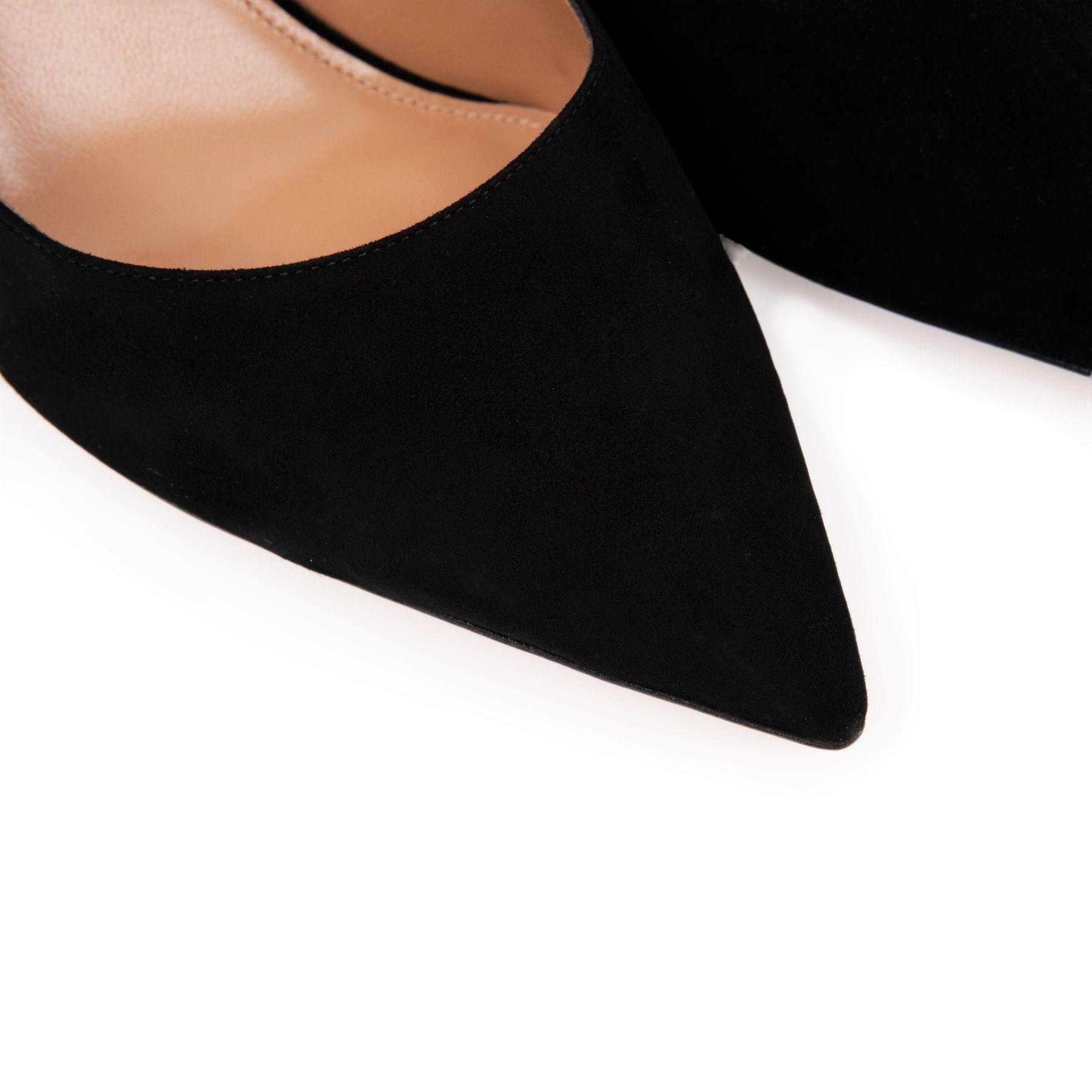 Туфли AQUAZZURA Bow Tie черные