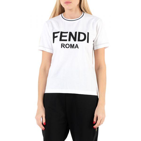 Футболка Fendi белая